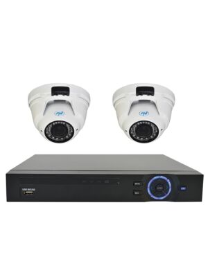 PNI House Videoüberwachungskit - NVR 16CH 1080P und 2 PNI IP2DOME 1080P PNI-Kamera