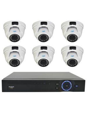 Videoüberwachungskit PNI House - NVR 16CH 1080P und 6 PNI IP2DOME 1080P-Vario-Kameras