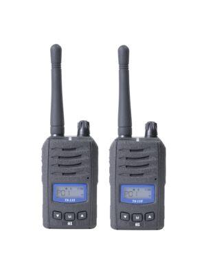 Tragbarer PMR-Radiosender TTi TX110 mit 2bc