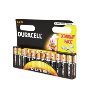 Duracell AA oder R6 Alkali-Batterie Code 81267246 12bc Blister