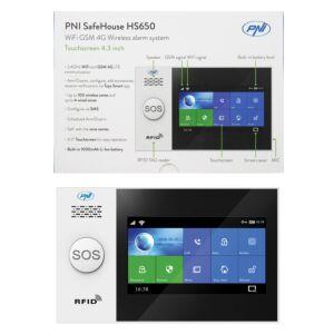 Drahtloses Alarmsystem PNI SafeHouse HS650